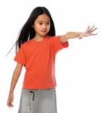 Kids T-Shirt Exact 190 B&C - Schulbekleidung mit Logo-Bestickung