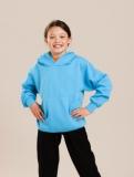 Kids Hooded Sweat Shirt : Schulbekleidung mit Logo-Bestickung